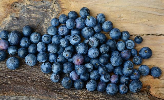 Blueberries, Berries, Fruit, Fruits, Berry, Blue