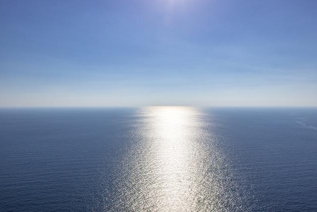 Blue, Sea, Empty, Blue Sea, Sky, Abstract, Water