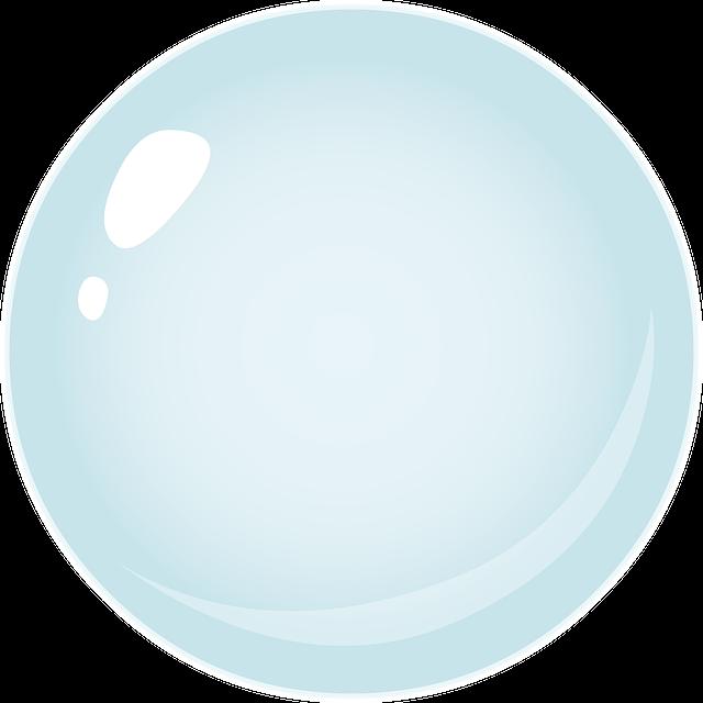 Bubble, Circle, Sphere, Blue, Shape, Symbol, Icon