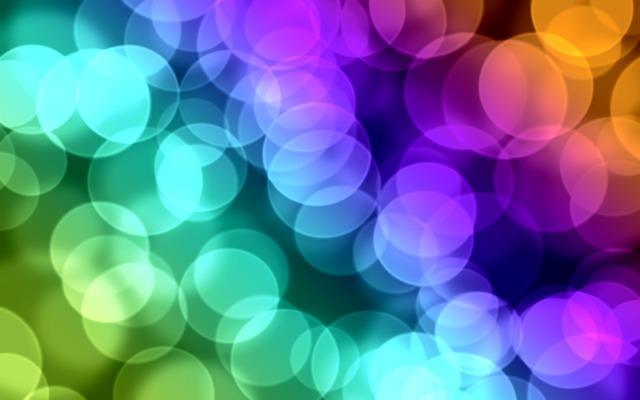 Bokeh, Circles, Colors, Design, Effect, Blue, Bubbles