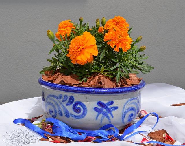 Earthenware, Ceramic, Grey, Blue, Pottery, Pattern