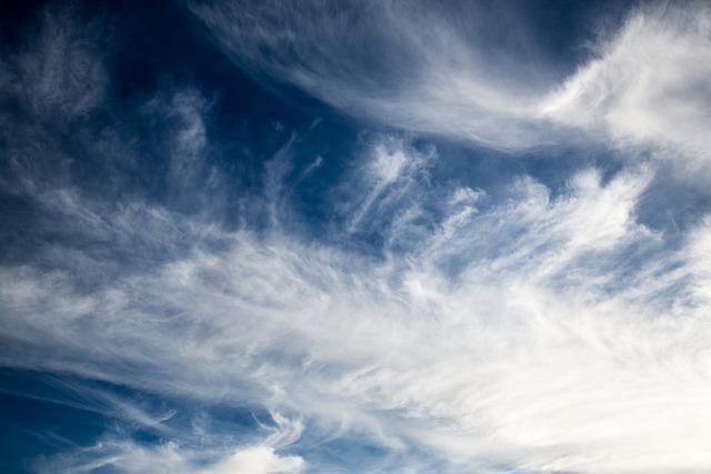 Beautiful Clouds, Cloud, Cirrus, Beautiful, Blue, White
