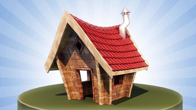 Cottage, House, Small, Summer, 3d, Mallinnos, Sky, Blue