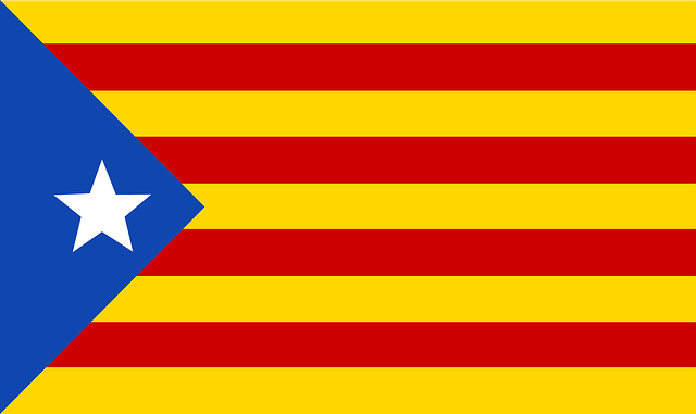 Catalonia, Country, Flag, Patriotism, Blue, Yellow, Red