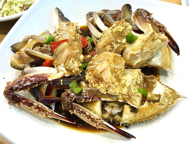 Korean Food, Soy Crab, Side Dish, Blue Crab
