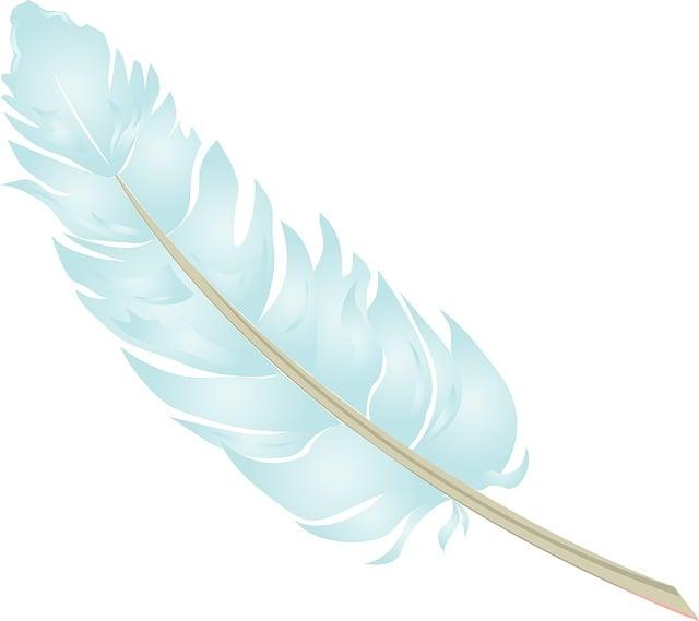 Feather, Blue, Baby Blue, Pastel, Bird, Nature, Angel