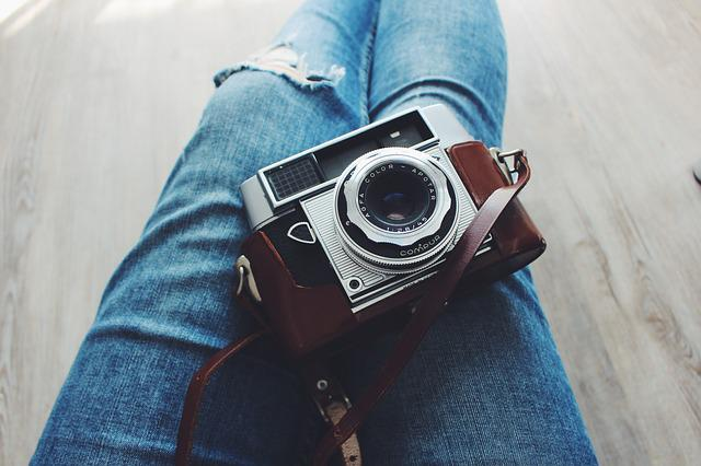Blue Jeans, Photographer, Photography, Camera, Casual
