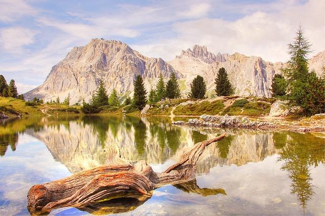 Lech Limides, Dolomites, Nature, Blue, Lake, Summer