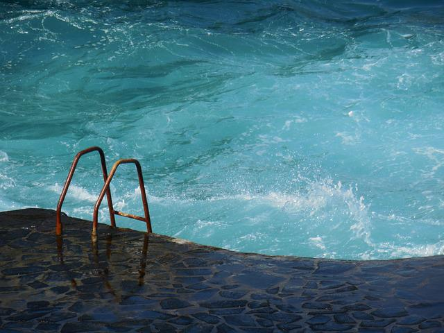 Sea ​​pool, Ocean, Sea, Wave, Water, Coast, Blue
