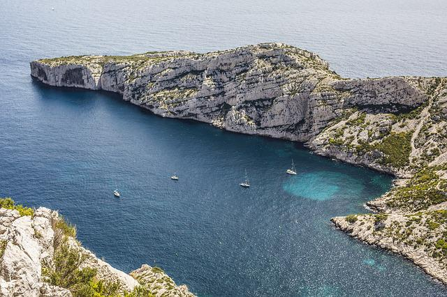Marseille, Creeks, Provence, Sea, Blue, France