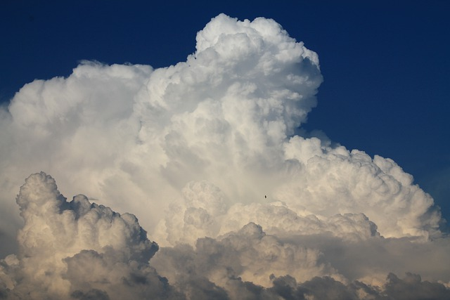 Blue Sky, Cumulus, Cloud, Summer, Thunderhead