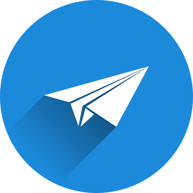 Paper Planes, Send, Newsletter, Icon, Blue, Tinker