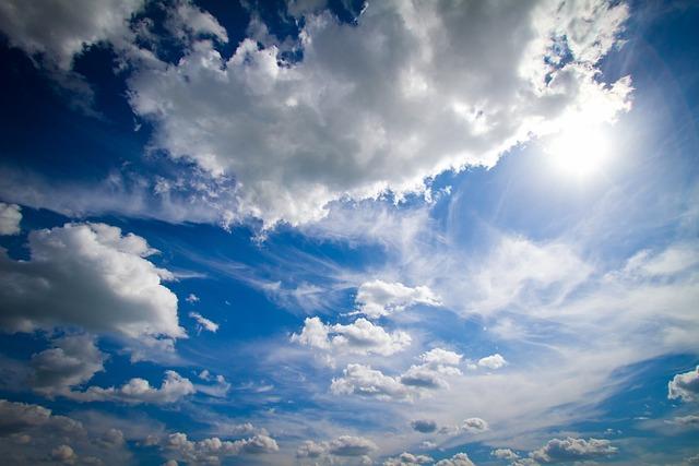Clouds, Blue, Blue Sky, Summer, Landscape, Vacation