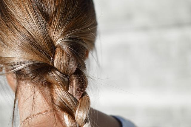 Blur, Braided Hair, Brunette, Close-up, Fashion, Female