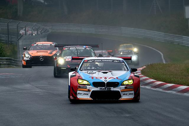 Car Racing, Motorsport, Racing Car, Bmw, Sport, Rain