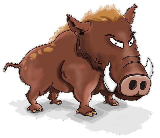 Wild Boar, Boar, Wild Pig, Big Guy, Hog