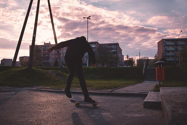 People, Active, Board, Boarding, Boy, City, Fun