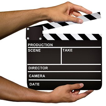 Clapper, Hollywood, Cinema, Board, Production