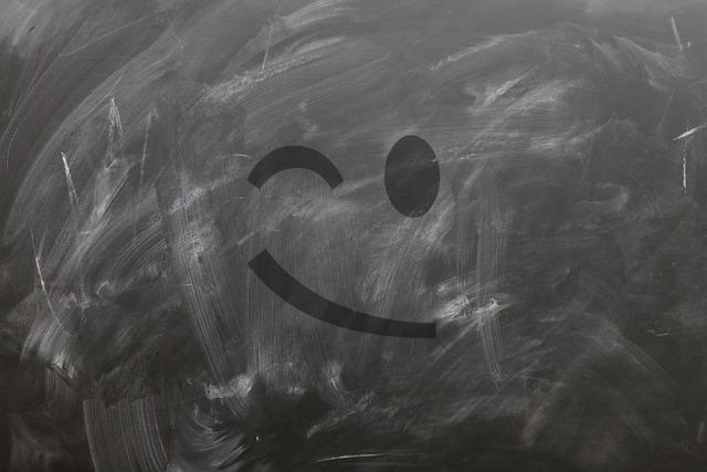 Board, School, Emoticon, Smiley, Wink, Blind Eye, Smile
