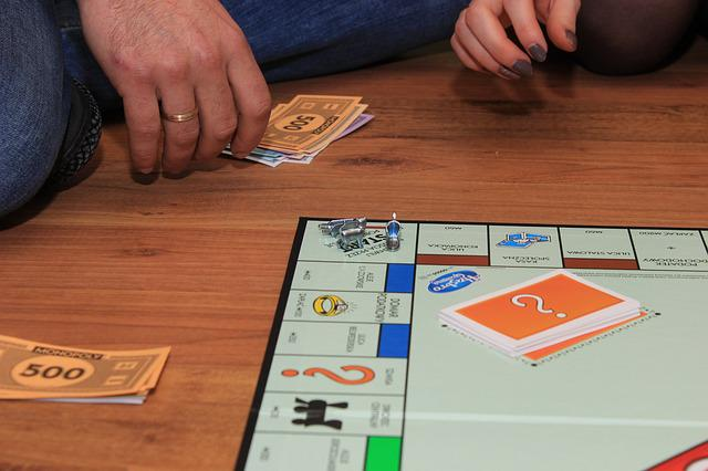 Monopoly, Game, Board Game