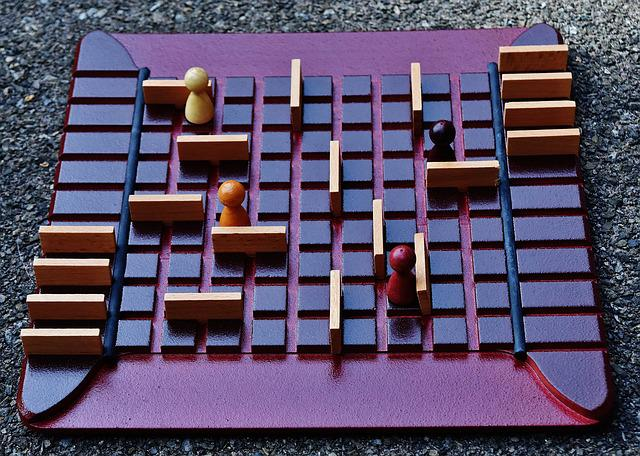 Play, Gesellschaftsspiel, Quoridor, Wood, Board Games