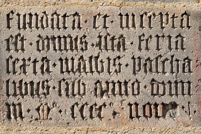 Stone Tablet, Latin, Board, Font, Stone, Chiseled