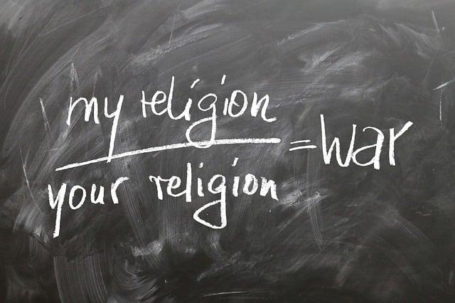 Board, Religion, War, Different, Islam, Christianity