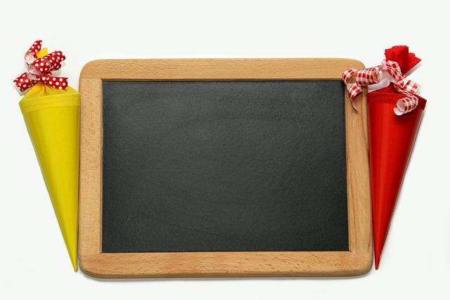Back To School, Schultüte, Board, School Enrollment
