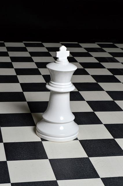 Chess Piece, Chess, Strategy, Board, King