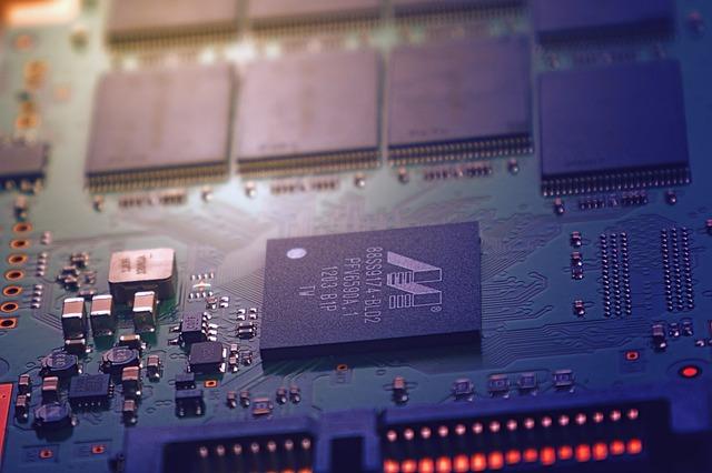 Technology, Industry, Big Data, Cpu, Board