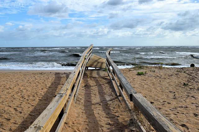 Hurricane Irma, Damage, Boardwalk, Destruction, Walkway