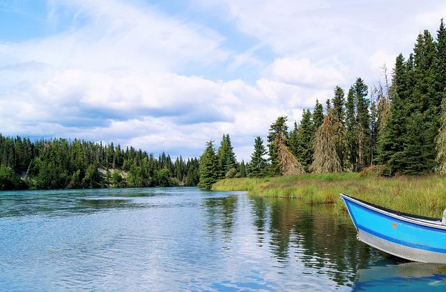 Kenai River, Fishing, Boat, Alaska, Kenai, River