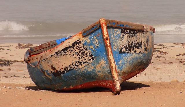 Boat, Fishing Vessel, Beach