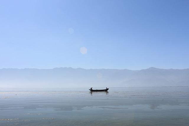 Lugu Lake, The Scenery, Boat, Canoe, Lake