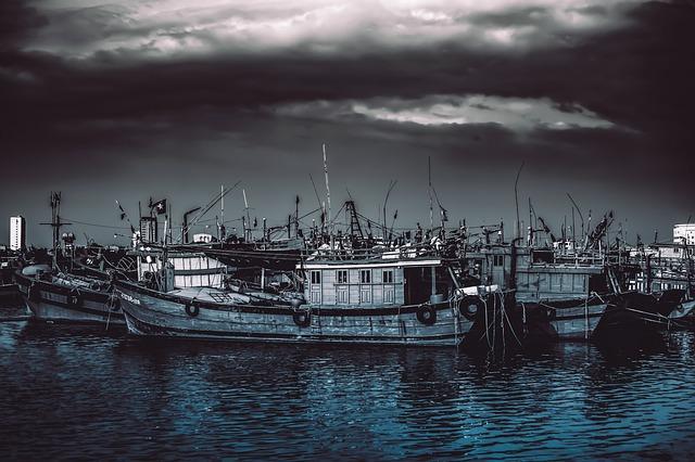 Boat, Cloud, Clouds, Sea, Water, Sailboat, Port