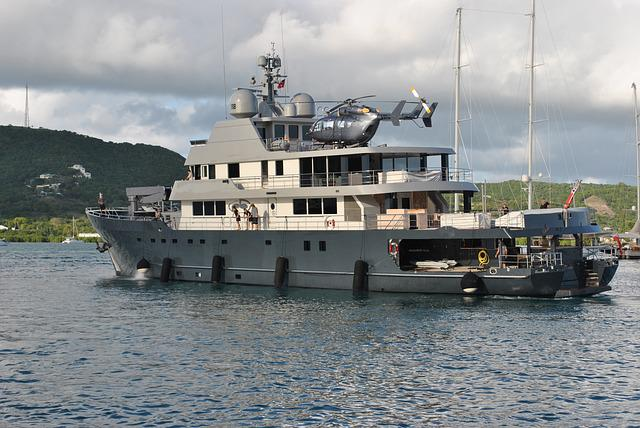 Megayacht, Superyacht, Helicopter, Boat, Crew