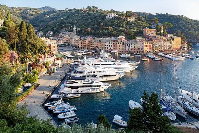 Portofino, Liguria, Italy, Sea, Porto, Boat, Luxury