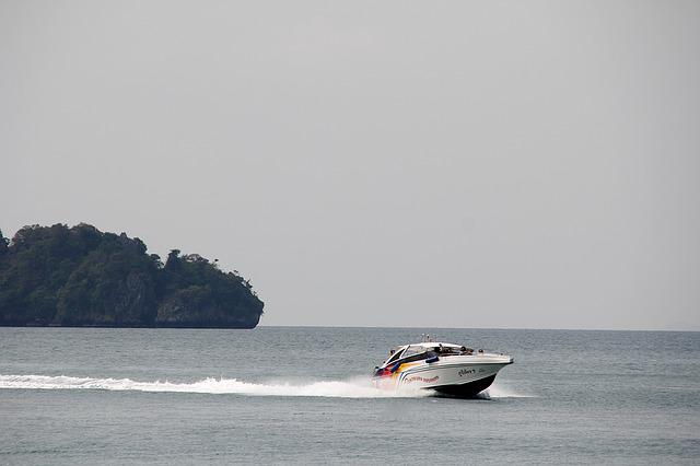 Powerboat, Ocean, Racing Boat, Sea, Water, Boat, Lake