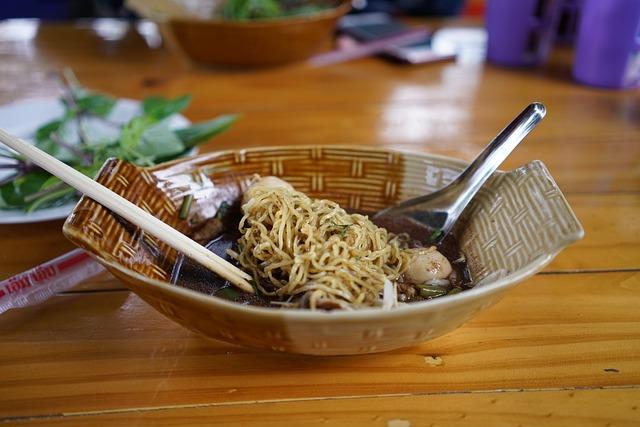 Boat Noodle, Thai Food, Amazing Thai Food