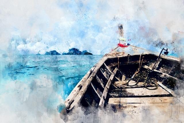 Sea, Ocean, Ship, Boat, Sail, Summer, Blue, Journey