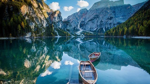 Laguna, Barco, Paisaje, Paradise, Boat, Lagoon