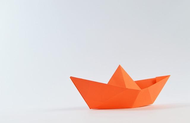 Origami, Paper, Sailing, Sailboat, Boat, Navigation