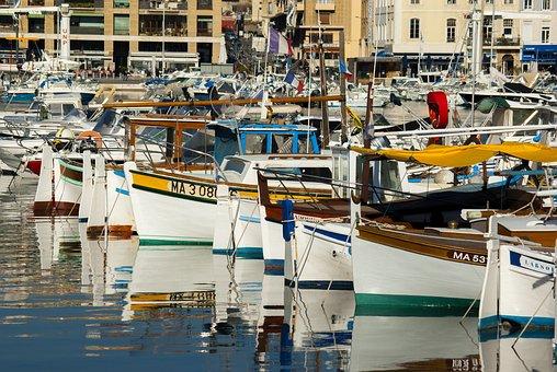 Boat, Barque, Fishing-boat, Fishing, Harbor, Sea