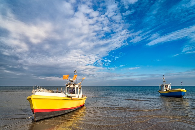 Fishing Boats, Seashore, Fishing, Boat, Sea, Shore