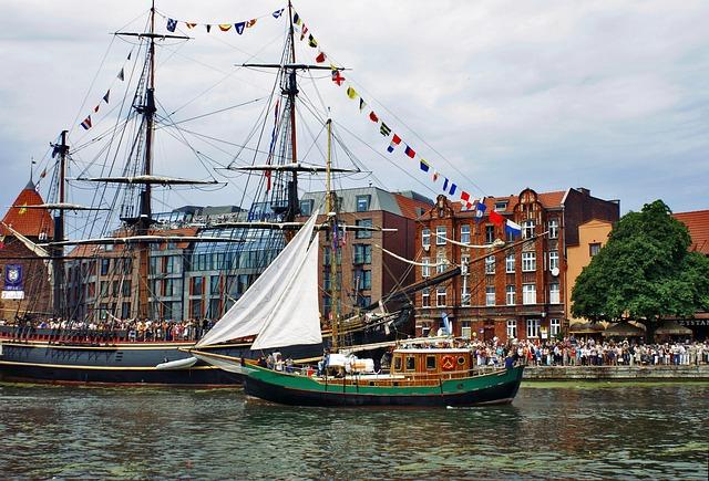 Boat, Ship, Gdańsk, Shipping, Boats, Ships, Swimming