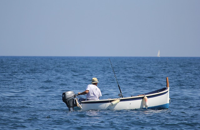Visser, Boat, Sea, Sicily
