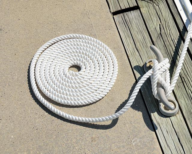 Boat Tie Up, Mooring, Rope, Cleat, Tied, Moored, Boat