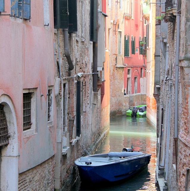 Venice, Canal, Boat, Architecture, Building, Venezia