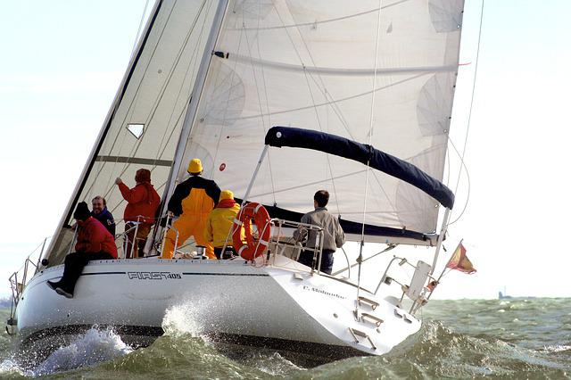 Yacht, Sailboat, Boat, Sport, Body Of Water