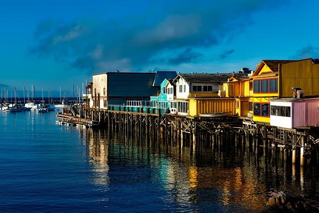 Fisherman's Wharf, Monterey, California, Boating, Boat